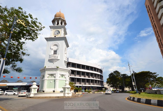 penang island itinerary travel guide Queen Victoria Memorial Clock Tower