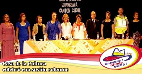 Casa de la Cultura celebró con sesión solemne