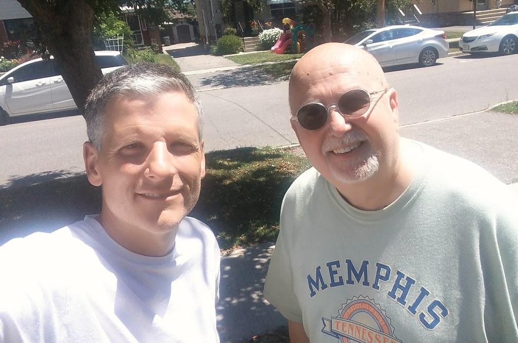 John Donabie and me