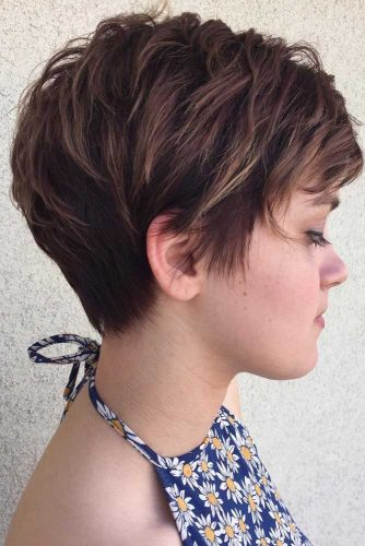 60+Pretty Ladies Short Haircuts -They Have Dreamt Of This Hairstyles 13