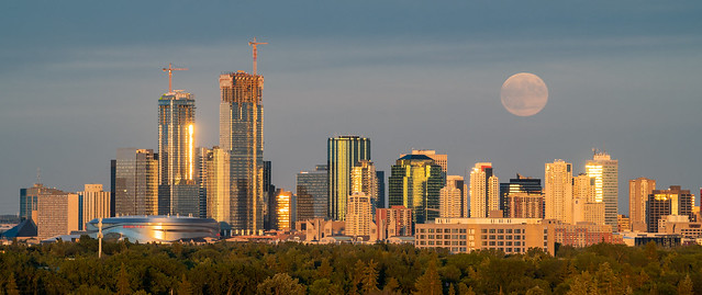 Strawberry Moon, Edmonton [Explored]