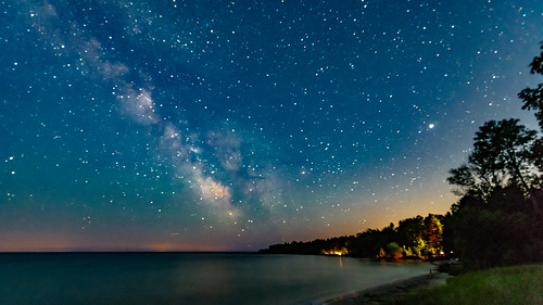Milky Way Over The Bay