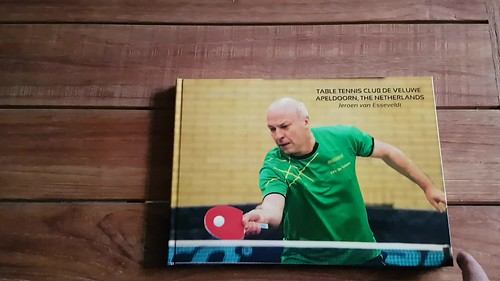 Photobook Table Tennis Club De Veluwe Apeldoorn The Netherlands