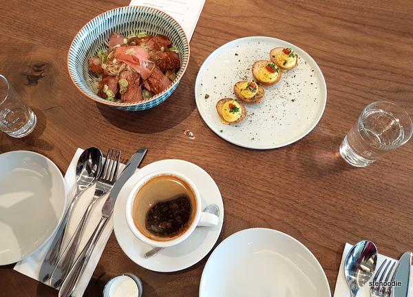 Cafe Bon Bon food
