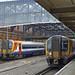 RD17580.  SWR 444 010 & 444 011. Bournemouth.