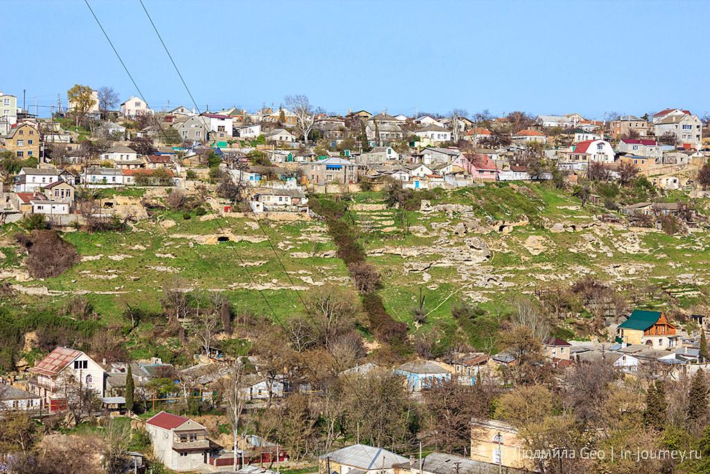 пещеры и скалы в Севастополе