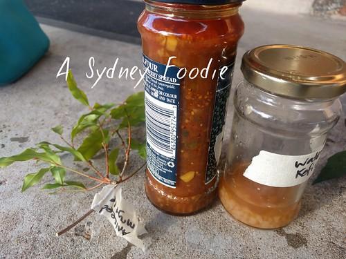 Aniseed Mrytle, kasundi, water kefir