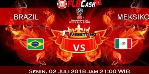 Prediksi Bola Piala Dunia – Brazil vs Meksiko, hari Senin, 2 Juli 2018