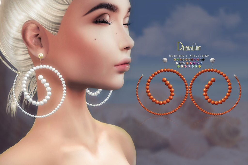"[Dreamlight] ""Shanika"" Pearl Earrings"