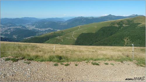 Verso le Alpi dalla Capanna