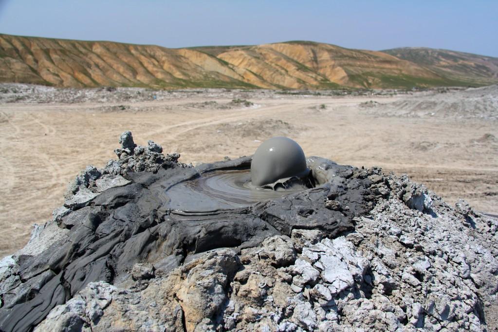 Долина грязевых вулканов или природное чудо света в Азербайджане