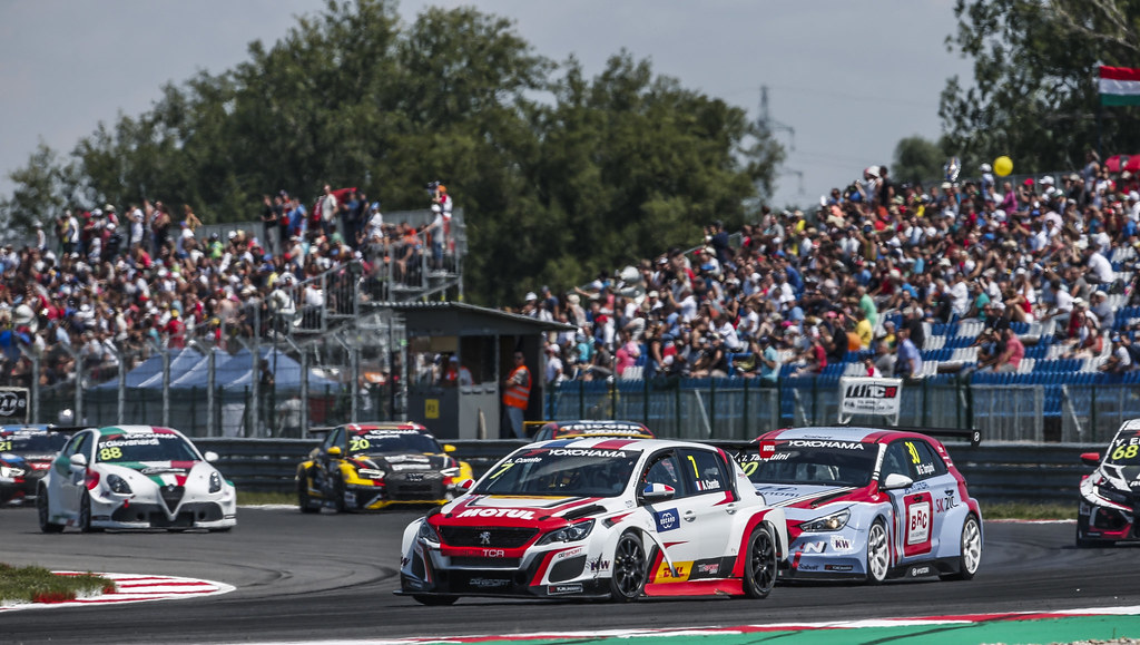 07 COMTE Aurelien, (fra), Peugeot 308 TCR team DG Sport Competition, action during the 2018 FIA WTCR World Touring Car cup race of Slovakia at Slovakia Ring, from july 13 to 15 - Photo Jean Michel Le Meur / DPPI