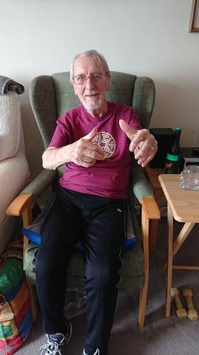 John Henry convalescing