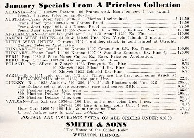 SMITH & Son Jan 1952 Num Scrap 63