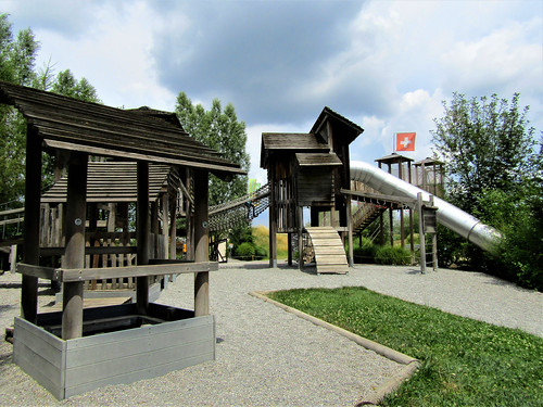 playground in theme park in Germany