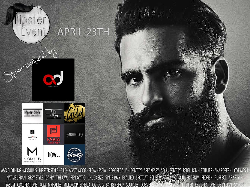 Hipster Men Event APRIL ROUND