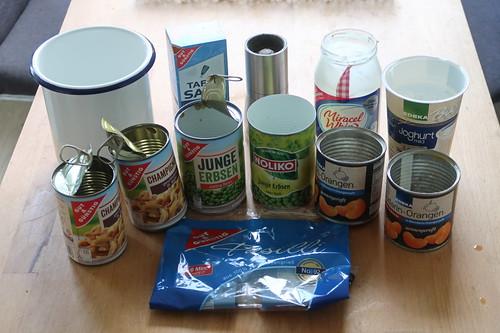 Zutaten für 'meinen' Nudelsalat