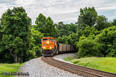 BNSF 8586 | EMD SD70ACe | NS Memphis District West End