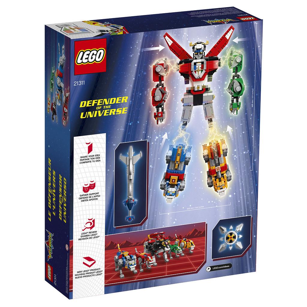五獅即將合體,要來轟爆你的荷包君啦~~ LEGO 21311 Ideas 系列【聖戰士】Voltron