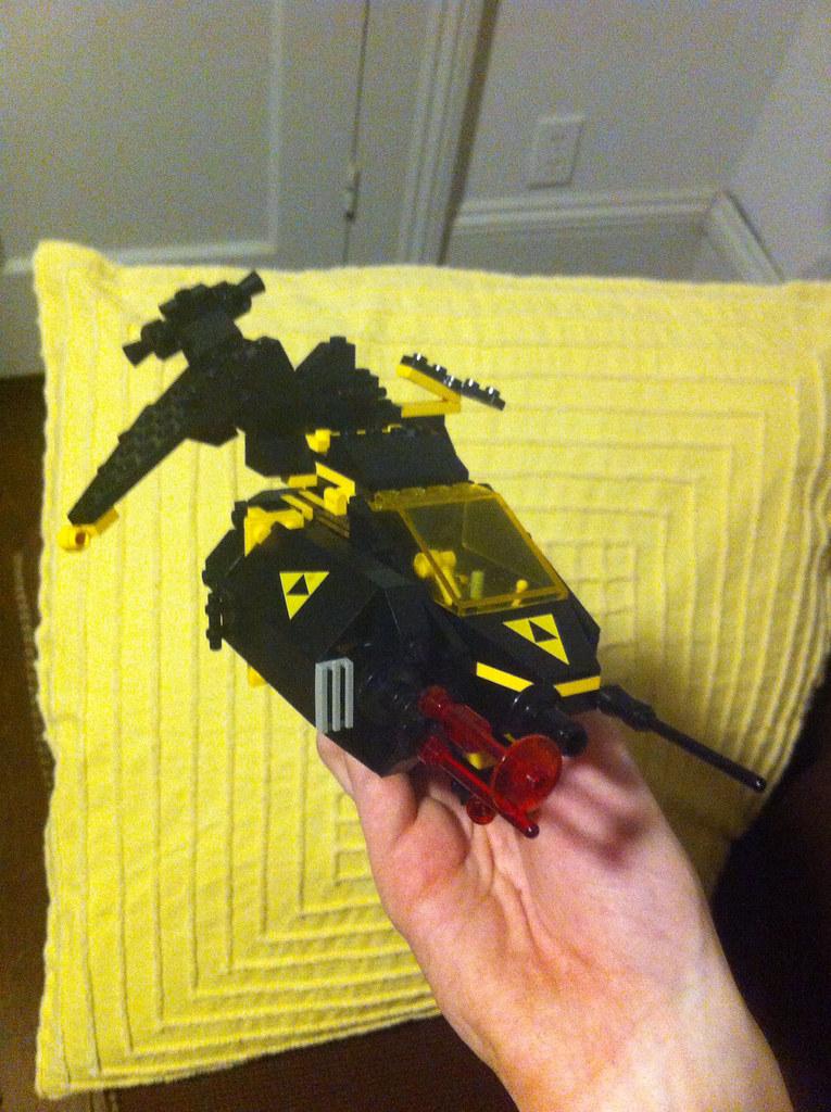 Blacktron Gunship: LEGO WIP