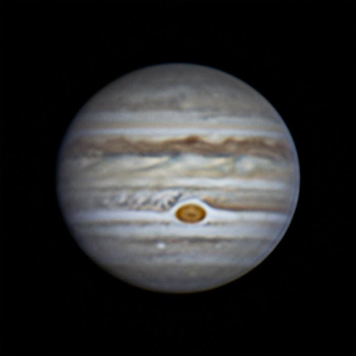 木星 (2018/7/8 20:05-20:07) (1500/3000 x2 de-rotation)
