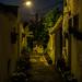 Laneway at night by David Redfearn