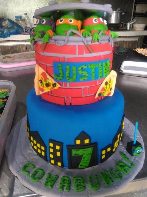 TMNT Cake by Avrenim De Guia Garcia