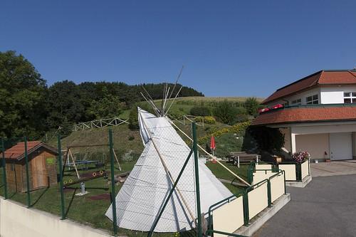 Spielplatz beim Wohlfühl Hotel Wiesenhof