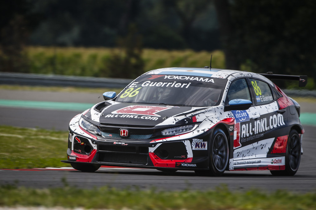 86 GUERRIERI Esteban, (arg), Honda Civic TCR team ALL-INKL.COM Munnich Motorsport, action during the 2018 FIA WTCR World Touring Car cup race of Slovakia at Slovakia Ring, from july 13 to 15 - Photo François Flamand / DPPI.