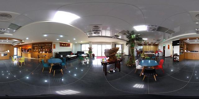 蔚藍珠海民宿-迎賓大廳餐廳