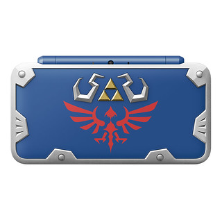 Gear Up with the Unbreakable New Nintendo 2DS XL Hylian Shield Edition!