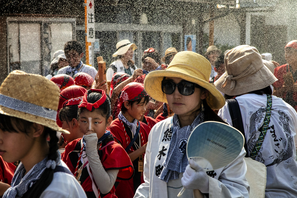 Chichibu Festival Spraying Water, Japan 7