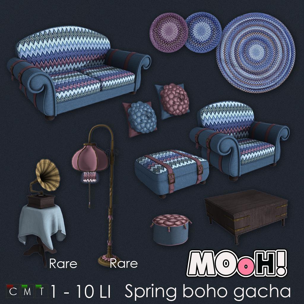 MOoH! Spring boho gacha - TeleportHub.com Live!