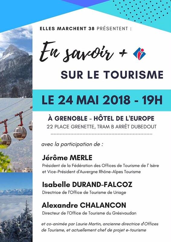 Elles Marchent 38 Conférence Tourisme