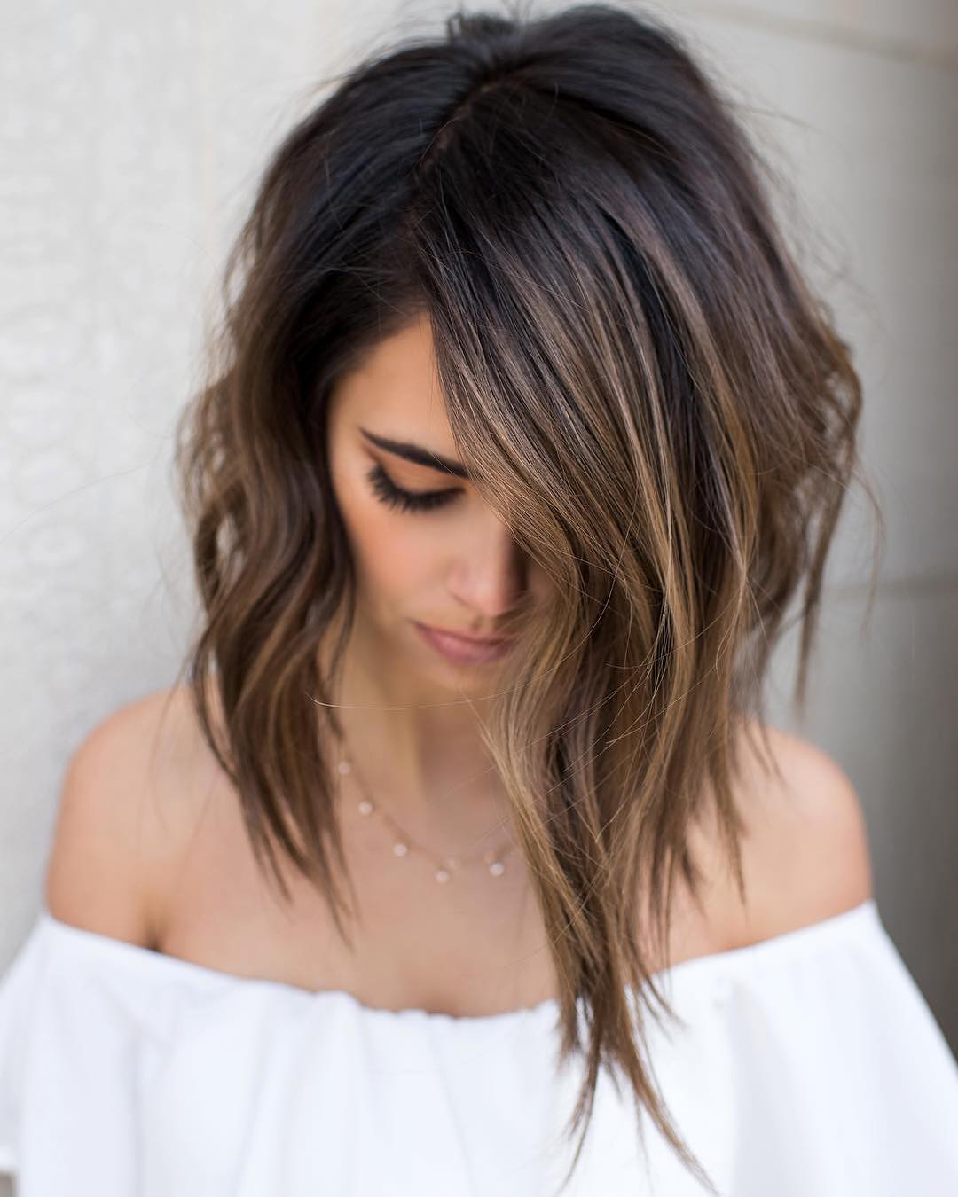 2018 Ombre Balayage Hairstyles For Chic Mid Length Hair ! 3