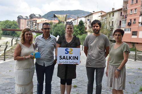 Salkin logo berriaren aurkezpena