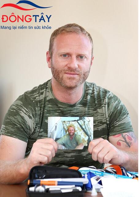 Một người đàn ông 31 tuổi đã chữa khỏi tiểu đường type 1