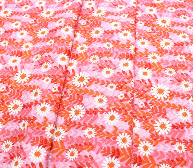 COTTON+STEEL Freshly Picked 0062-01 Daisies Pink