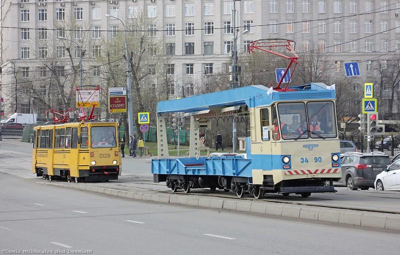 Трамвай-рельсотранспортёр СВАРЗ РТ-3