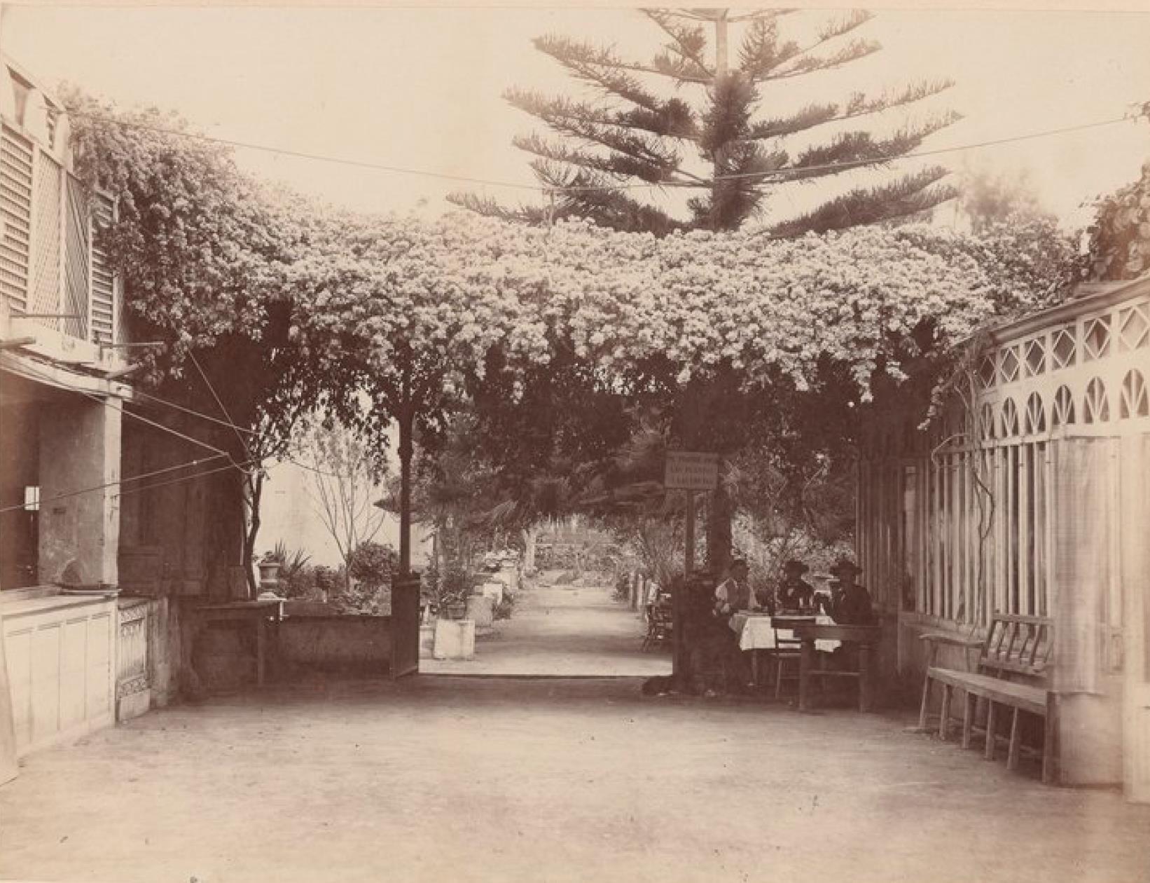 Лима. Частный вход в сады Авроры