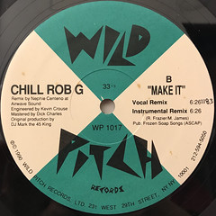 CHILL ROB G: LET ME SHOW YOU(LABEL SIDE-B)