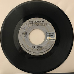 THE TURTLES:YOU SHOWED ME(RECORD SIDE-A)