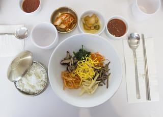 South Korean Lunch