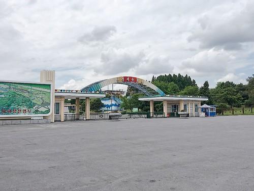 號稱「朝鮮迪士尼」的萬景臺遊戲場