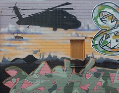 Chopper Flying Over Tag