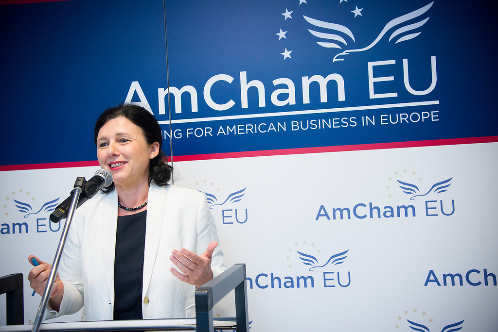 A New Deal for Consumers with Commissioner Jourova