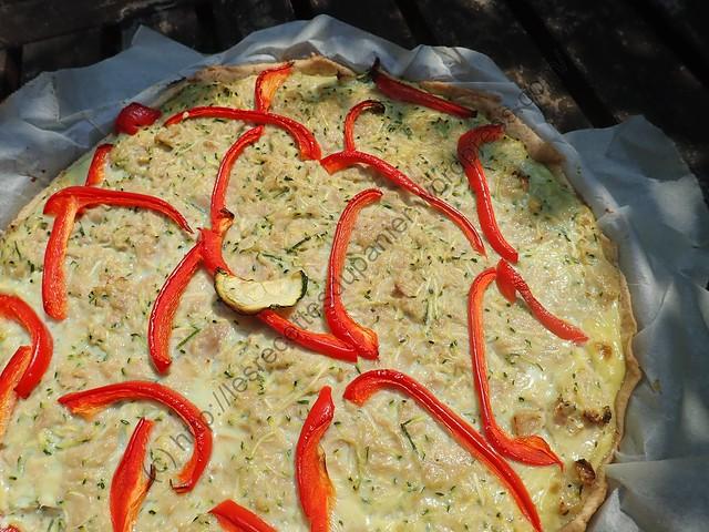 Tarte Thon-Courgette / Tuna-Zucchini Pie