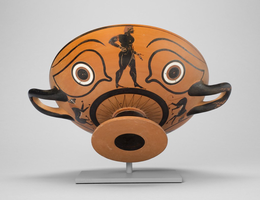 Dionysus and the Pirates, the Dionysus Cup by Exekias (90 ...