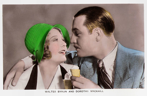 Walter Byron and Dorothy MacKaill