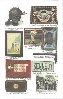 Rex Stark catalog Kennedy plate